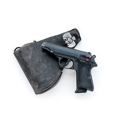 Wartime Commercial Walther PP Semi-Auto Pistol