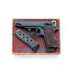 French Manurhin Model PP Semi-Automatic Pistol