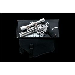 Taurus M44 Double Action Revolver, with scope