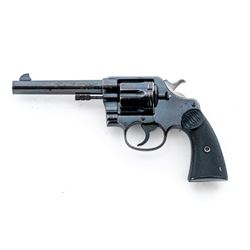 English Proofed Colt New Service Revolver