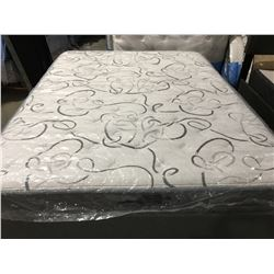 DR. COMFORT GAMMA POCKET COIL MATTRESS & FRAME (HEADBOARD NOT INCLUDED) - A