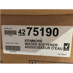 KENMORE ELITE WATER SOFTENER