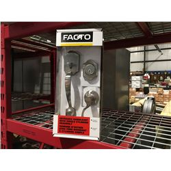 FACTO ENTRANCE HANDLESET WITH SINGLE CYLINDER DEADBOLT - H