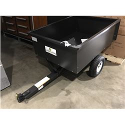 LANDSCAPERS SELECT 400LB UTILITY DUMP CART WITH RELEASE PEDAL - ASSEMBLED