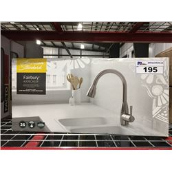 AMERICAN STANDARD FAIRBURY 4005CASSF STAINLESS STEEL PULL-DOWN KITCHEN FAUCET