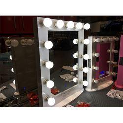 "FONTAINEBLEAU 13 LED LIGHT VANITY MAKEUP MIRROR - (WHITE) - 23.75"" X 31.5"" - B"