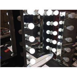 "FONTAINEBLEAU 12 LED LIGHT VANITY MAKEUP MIRROR  - 19.75"" X 27.75"" -  A"