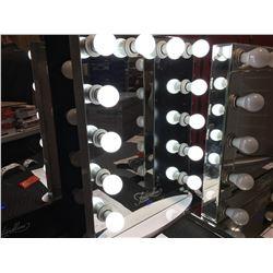 "FONTAINEBLEAU 12 LED LIGHT VANITY MAKEUP MIRROR - 19.75"" X 27.75""  - C"