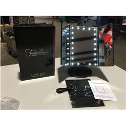 FONTAINEBLEAU LED LIGHTED TRI-FOLD VANITY MIRROR - ULTRA BRIGHT 21PCS LEDS, 3 PANELS PROVIDE