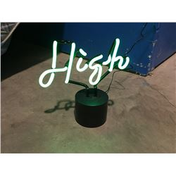 """NEON *HIGH* LIGHT 9"""" TALL"""