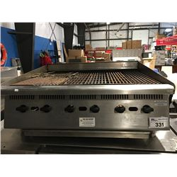 6-BURNER GAS RESTAURANT GRILL 36""