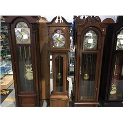 GRANDMOTHER WESTMINSTER CHIME CLOCK - WALNUT CASE