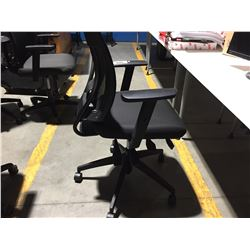GROUP OF 3 EXECUTIVE ADJUSTABLE OFFICE CHAIRS