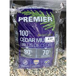PREMIER BLACK CEDAR MULCH 42.5L X 10 - A