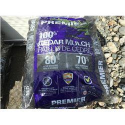 PREMIER BLACK CEDAR MULCH 42.5L X 10 - E