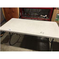 "LIFETIME FOLDING TABLE 60"" X 30"""