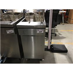 QUEST MV40 RESTAURANT GAS 2 BASKET DEEP FRYER
