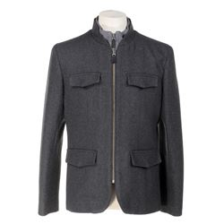 Mpho Koaho 'Ken' wool blazer from Dirk Gently's Holistic Detective Agency.