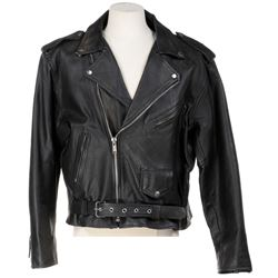 'New Children of the Old God' leather motorcycle jacket from Dirk Gently's Holistic Detective Agency