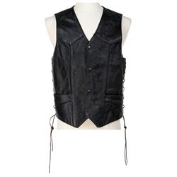 'New Children of the Old God' biker vest from Dirk Gently's Holistic Detective Agency.