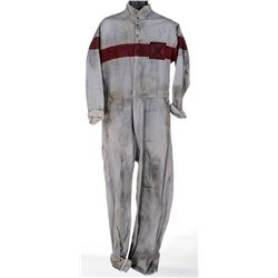 Michael Eklund 'Martin' Project Blackwing detainee jumpsuit from Dirk Gently's...