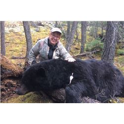 5 Day Manitoba Spring Bear Hunt with Adrenaline Outfitters Ltd.