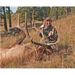 6 Day Montana Elk Hunt for 1 in 2021 with Jack Creek Preserve