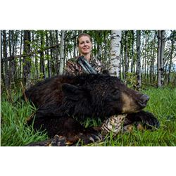7 Day Alberta Black Bear Hunt for 1 with Carter Outfitting Ltd