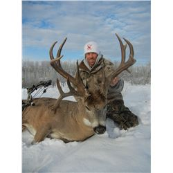 6 Day Alberta Whitetail Hunt for 1 in 2020 or 2021 - Bow Only Zone with Wizard Lake Outfitting