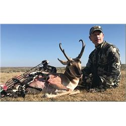 4 Day Wyoming Antelope Hunt with Bear Track Outfitters