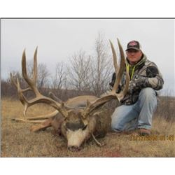 6 Day Alberta Archery Mule Deer Hunt in 2020 with Big Knife Outfitters