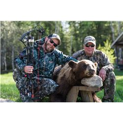 5 Day 6 Night Black Bear Hunt + Fishing Trip for 1 with Reindeer Lake Trout Camp