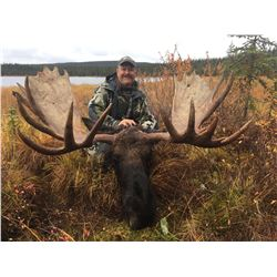 10 Day Alaska/Yukon moose, black bear and wolf hunt for 1 in 2020 with Barelas Alaskan Outfitters