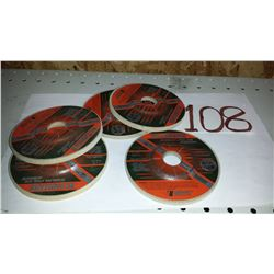 "Blending Stainless & Aluminum Grinding Disc 4""1/2 A120"