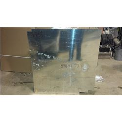 "Aluminum Sheet 45,5"" x 42,5""  x (less than) 0.065"