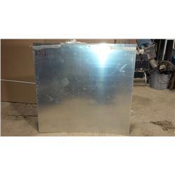 "Aluminum Sheet 48"" x 47""  x (less than) 0.065"