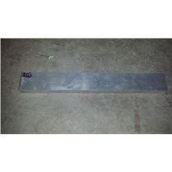 """Aluminum Plate 15""""3/8 x 2""""1/16 x 3/4"""""""