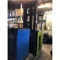 Clark lift truck with charger