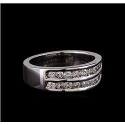 14KT White Gold 1.03 ctw Diamond Ring