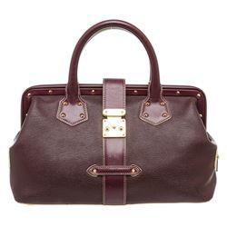 Louis Vuitton Purple Suhali Leather L'Ingenieux PM Tote Bag
