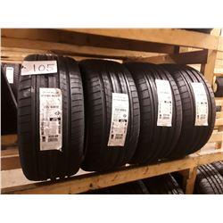 Set of 4 New Dunlop SL SP SPORT MAXX Tires GT BSWTL DD - 255/40R19 96V