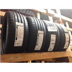 Set of 4 New Dunlop XL SP SPORTMAXX  Tires GT DSST STR DD  - (2 @ 225/35R19 88Y + 2 @245/30R19 89Y F
