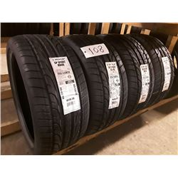 Set of 4 New Dunlop XL SP SPORT MAXX  Tires - J  BLT DD - 255/35R20  Speed Rating '97Y'