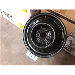 Set of 4 STEEL RIMS - 15 X 6 5/4.5 5/114.3 MULTI WHEEL