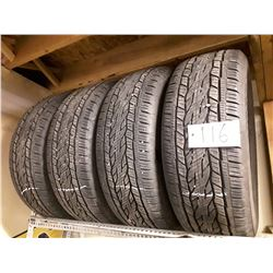Set of 4 Conti CrossContact LX20 Tires - 275/55R20 Take Off Used Wheels - 100km