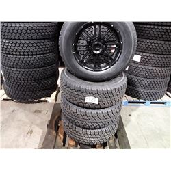 """Set of 4 TIRE WHEEL PACKAGE  20"""" - 4 new All Season Antares SSMTA7 - 35x12.50R20 - mounted on Americ"""