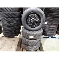 """Set of 4 TIRE WHEEL PACKAGE  20"""" - 4 new All Season Antares SSMTA7 - 35x12.50R20 - mounted on Moto M"""