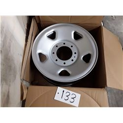 "Set of 4 FORD STEEL WHEELS  17""  8-170MM"