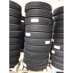 Set of 10 New Regional Drive AD156 Commercial Tires - 11R24.5 16 ply - Load Range 'H'