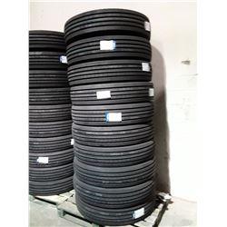 Set of 10 New JINYU JY588 Commercial Tires - 11R24.5  16PR TL (JY58824)  Load Range 'H'
